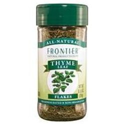 Thyme Leaf Whole Organic - 1 lb ( Multi-Pack) by Frontier