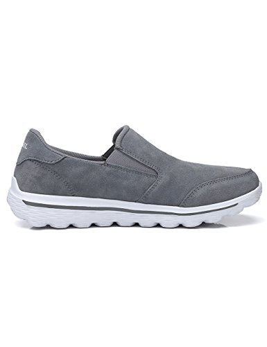 Walking On Gray for Shoes Shoes Breathable Mens Shoes CAMEL Casual Men Slip Leather Loafer CROWN wqSXEUg1