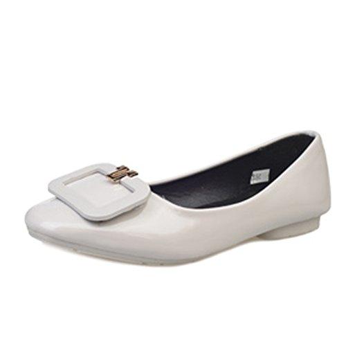Las señoras de la moda coreana y zapatos puntiagudos/Planos/simple zapatos planos de Inglaterra C