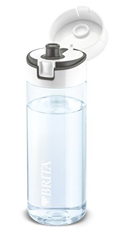 14 99 brita fill go trinkflasche mit wasserfilter 06 liter grau. Black Bedroom Furniture Sets. Home Design Ideas