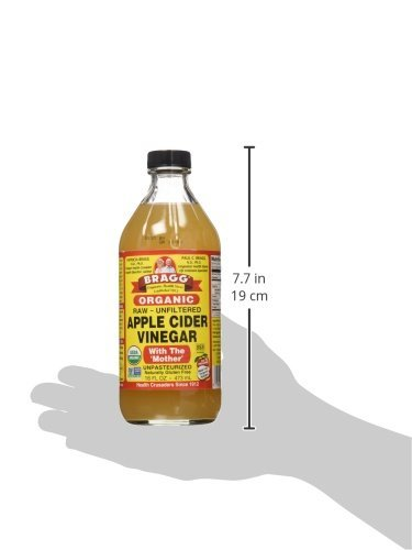Large Product Image of Bragg Organic Unfiltered Apple Cider Vinegar, Raw, 16 Ounce - 1 Pack