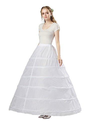 Sarahbridal Damen Ballon Petticoat Reifrock für Brautkleid ...