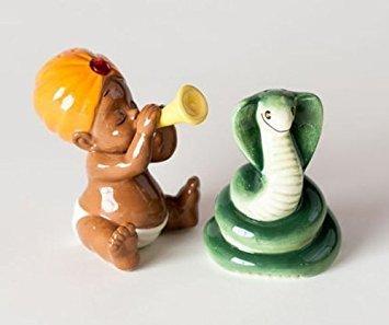 Snake Charmer - Hypnotic Snake Charmer Baby Playing Pungi