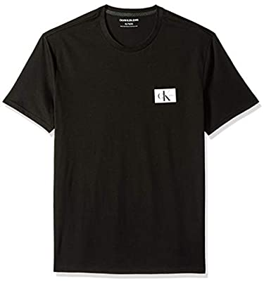 Calvin Klein Men's Short Sleeve T-Shirt Monogram Logo