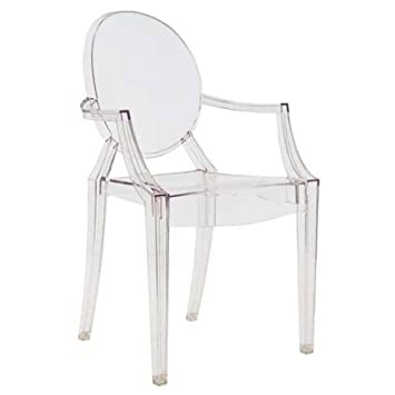 Sedia Kartell set 4 sedie louis ghost Kartell in OFFERTA OUTLET