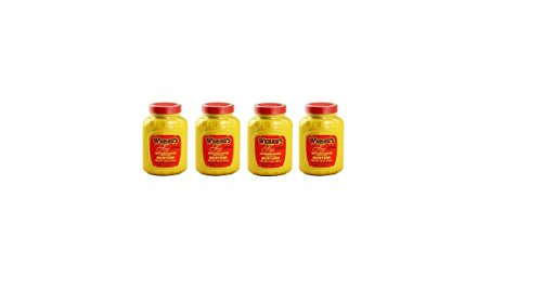 Prepared Mustard - 4-pack Bundle 16 Oz. Webers Horseradish Prepared Mustard (4) 16 Oz. Containers