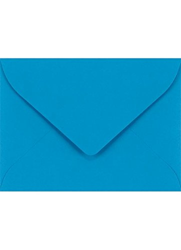 #17 Mini Gift Card Envelopes (2 11/16 x 3 11/16) - Pool (50 Qty.) | Perfect for the Holidays, Holding Place Cards, Gift Cards, Notes, and Flower Arrangement Cards |LUXLEVC-102-50