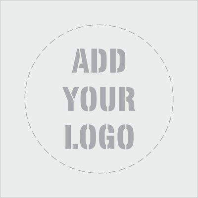Add Your Logo, Reusable Polyethylene Stencil, 63 mil Thick, 24