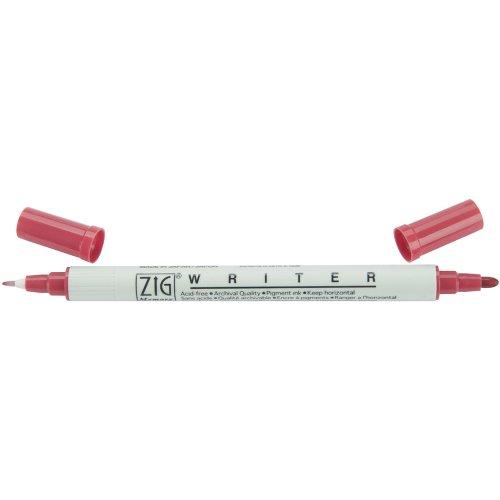 - Zig Memory System Writer Dual Tip Marker, Rose
