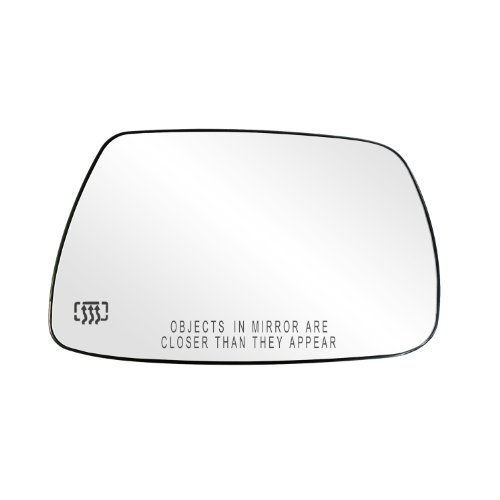 - Fit System 30265 Jeep Grand Cherokee Right Side Heated Power Replacement Mirror Glass with Backing Plate