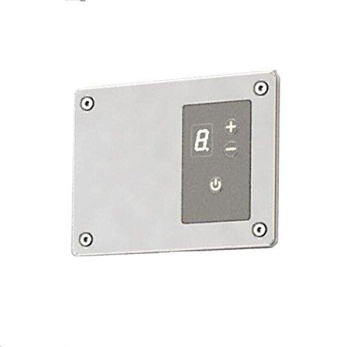 [해외]Amba ATW-DHCR-B 원격 디지털 열 컨트롤러, Brushed/Amba ATW-DHCR-B Remote Digital Heat Controller, Brushed