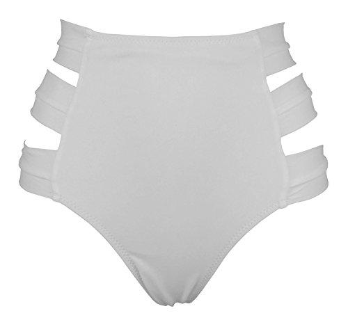 Cocoship Womens Straps Bikini Scrunch