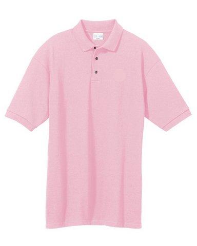 6020 - Small - Antique pink 6.8 oz Cotton Pique Knit Polo 246c9dbf11