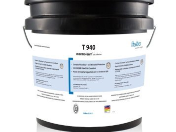 Forbo T 940 adhesive 4 Gallon Pail | iDECOR recommends to use it with Marmoleum Tile (MCT, Modular, & Dual)