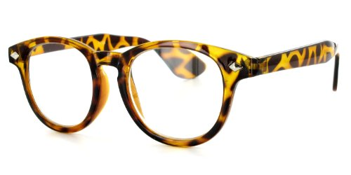 Waldo Demi Yellow +2.00 Geek Chic Men's Reading Glasses with Vintage Retro Styling are Fun and - Geek Chic Eyewear