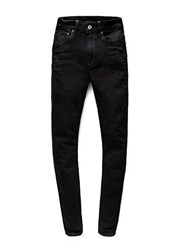Jeans STAR Negro G Mujer RAW Ajustados para Ea7vqCw