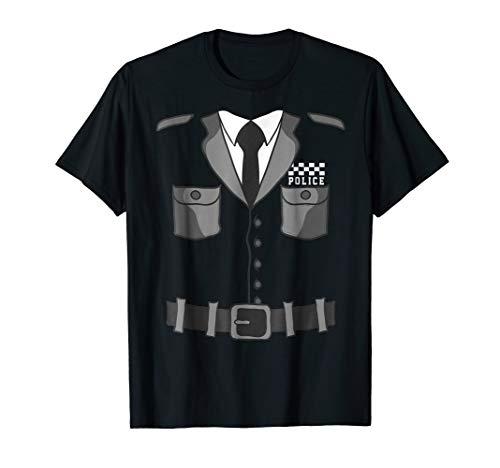 British Bobby Copper Police Costume T-Shirt Halloween -