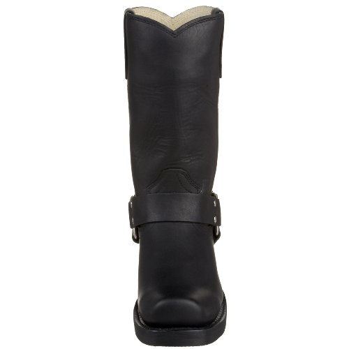 Durango Harness Damen Schwarz Leder Cowboy Stiefel 39 EUR Neu/Display