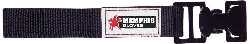MCR Safety GCB Nickel Gloves Utility Clip with Nylon Strap, Black