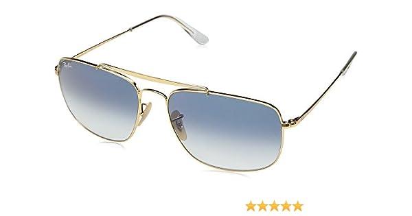 534c31b2d4 Amazon.com  Ray-Ban Men s Steel Man Sungkass Square Sunglasses