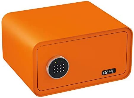 Olympia Go Safe Tesoro Dise/ño Safe Caja Fuerte Seguridad de Pared Caja C/ódigo Num/érico Amarillo lim/ón