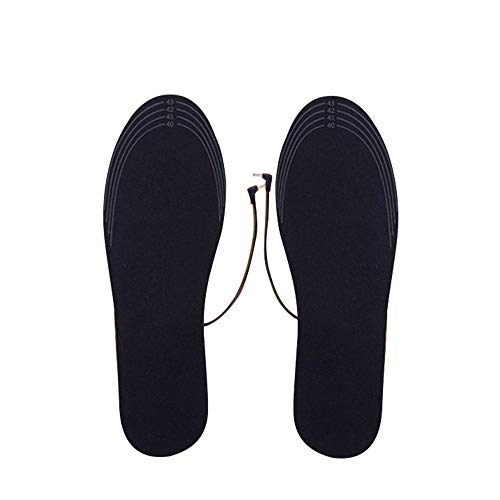 (Clearance Sale!UMFun USB Charging Electric Heated Insoles Pad Shoes Boots Heater Keep Feet Warm (For)