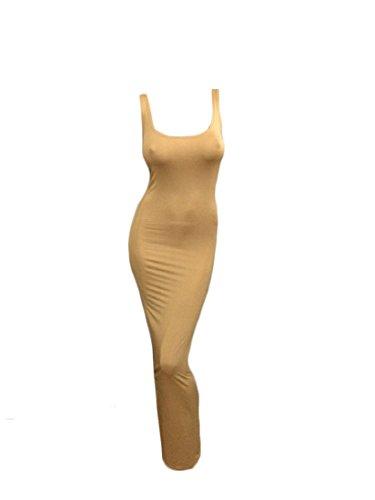 Più Sexy A donne Colori Abito Kaki Maxi Maglia Camicia Coolred Spiaggia 05qSWq