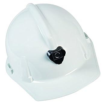 MSA Safety 448914 topgard policarbonato tapa estilo Bump Cap con 1 lámpara de suspensión y soporte y soporte para cable, color blanco: Amazon.es: Amazon.es