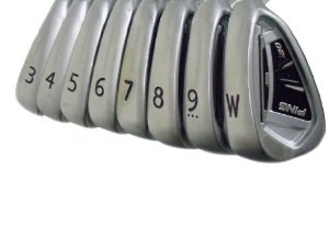 Ping 3 Irons - Ping i20 Iron Set Right 3-PW Standard CFS Steel Stiff 360 ID8