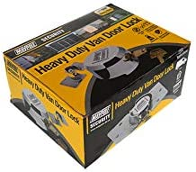 BITS4REASONS MP908 Cerradura para puerta de furgoneta MAYPOLE incluye pestillo cromado y tornillos de fijaci/ón