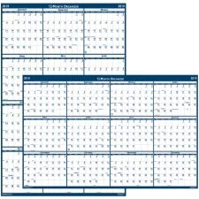 (House of Doolittle Laminated Write-On/Wipe-Off Wall Planner, January 2011 to December 2011, 32 x 48 Inch, Vertical or Horizontal, Recycled (HOD3961) 2018)