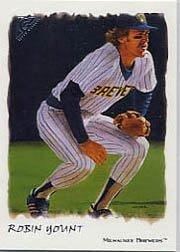 Ret Mint (2002 Topps Gallery Baseball Card #194 Robin Yount RET)