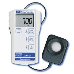 Milwaukee Instruments Lux Light Meter, MW700