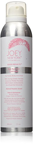 Joey New York Quick Results Bye Bye Dry Chill Mist, Passion, 7 Fluid Ounce (New Pure York Pores Joey)