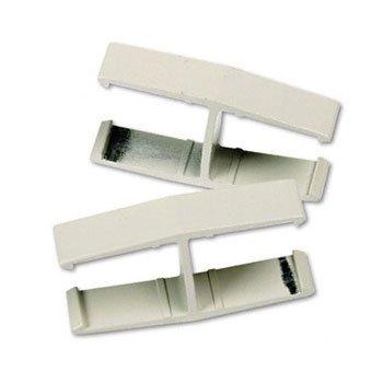 Maxon® VerséTM QuickConnect 180° Panel Connectors CONNECTOR,VERSE 180DGR,GY R4820 (Pack of10)