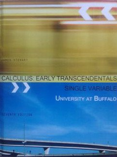 Calculus Early Transcendentals 7th Edition: University at Buffalo