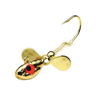 Northland Tackle WH5-25-12 Whistler Jig 25/BG Gold, 3/8 oz