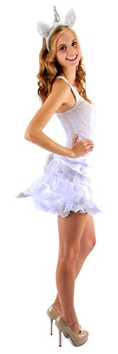 Elope Unicorn Costume Headband with Ears & Tail for -
