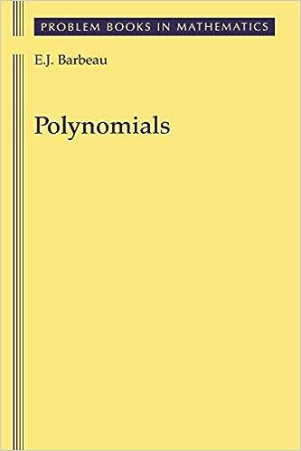 ผลการค้นหารูปภาพสำหรับ Polynomials - A Problem Book