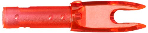 Easton G Nock - Small Groove .088 12 Pack - Red