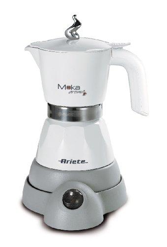 Ariete-Moka-Aroma-Cafetera-Independiente-Electric-moka-pot-De-caf-molido-Negro-Jarra-Caf-expreso