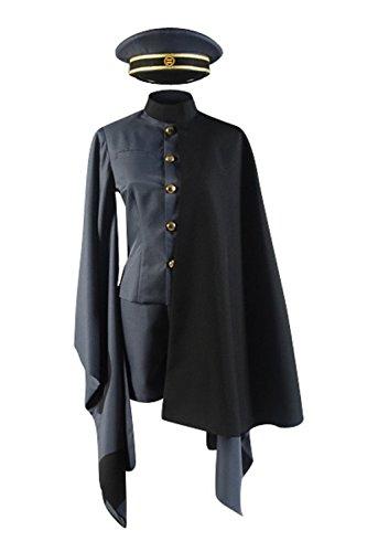 Senbonzakura Miku Costume (Cosplaybar Vocaloid 2 Senbonzakura Kagamine Rin Len Military Male L)