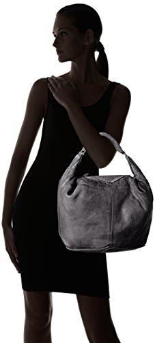 Liebeskind Berlin Tumba Tgoat, Borsa a spalla Donna Nero (Nairobi Black)