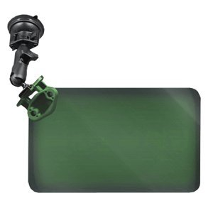 The Amazing Quality RAM Mount Suction Cup Mount w/Dark Green Sun Visor - 50% Tint