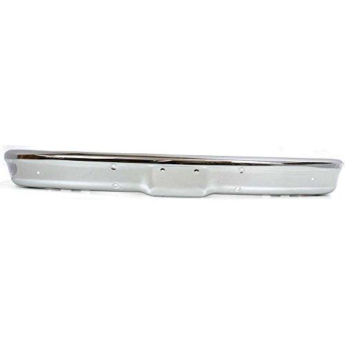 (Bumper compatible with Chevrolet C/K Full Size P/U/Suburban 67-70 Front Bumper Chrome)