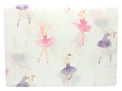 Kidzone Dancing Ballerina Beauty Light Purple Girls Bed Sheet Set Full