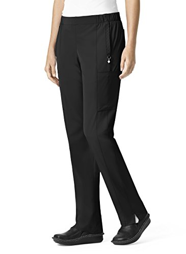 Vera Bradley Halo Collection Women's Mary Quilted Cargo Scrub Pant- Black- Medium Tall from Vera Bradley Healthcare Apparel