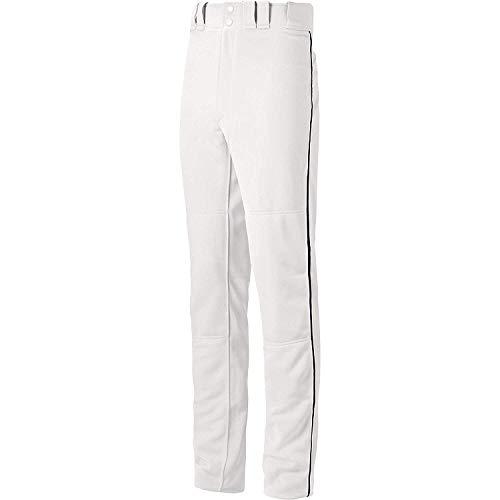 Mizuno Player Adult Premier (Mizuno Premier Pro Piped Pant (White/Black, X-Large))