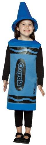 Rasta Imposta Crayola Blue Toddler Costume,Blue,4-6X