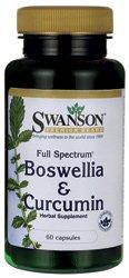 Swanson Full Spectrum Boswellia et curcumine 60 Caps (1)